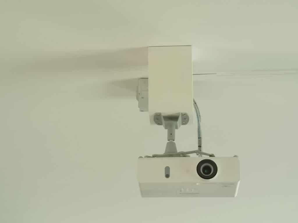 Le vidéoprojecteur pour les réunions d'équipes