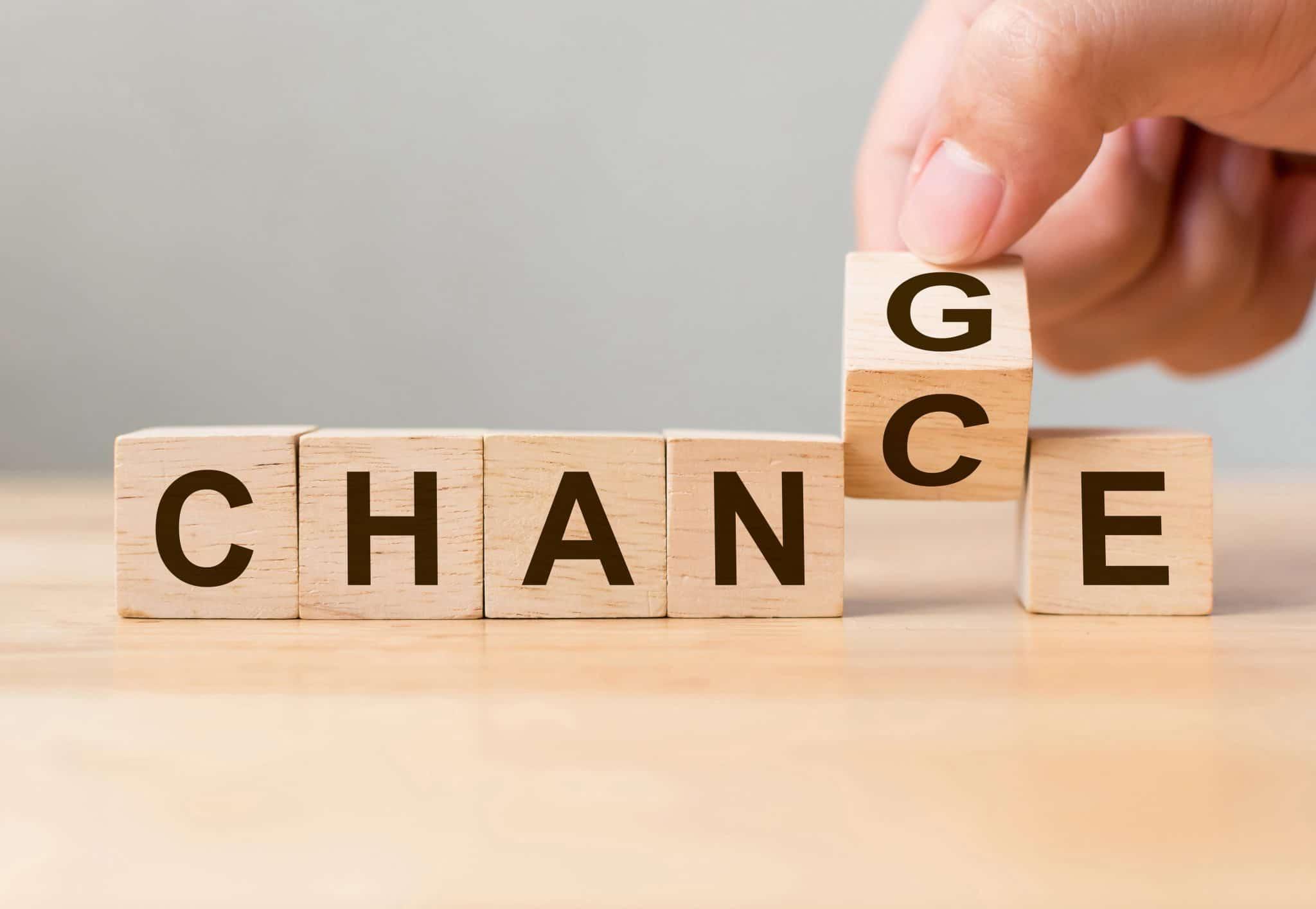 Étapes de la conduite du changement